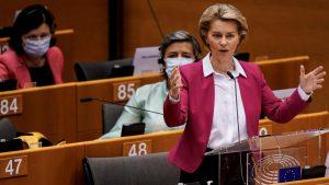 La Presidenta de la Comisión Europea presenta su Plan para la reactivación